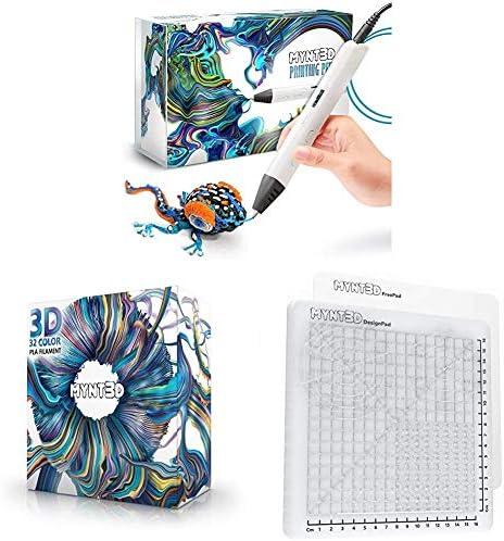MYNT3D Pro 3D Pen 32 Color SuperPack PLA DesignPad Mat Kit product image