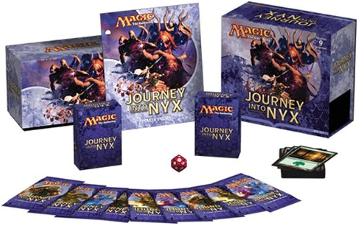 Wizard of the Coast 93448 - MTG Journey into Nyx Fat Pack, Englisch