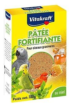 Vitakraft : Pâtée Fortifiante Au Miel Pour Oiseau 100 Gr