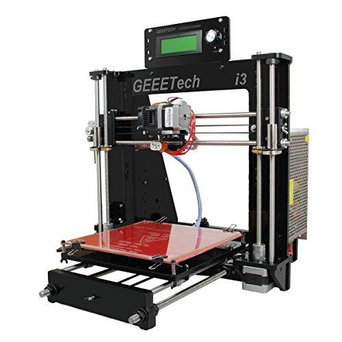 DERUC Geeetech Acryl Prusa 3D Drucker DIY Kit Pro B Einfache Montage Prusa I3 Acryl-3D-Drucker kit