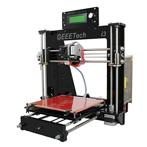 DERUC GEEEETECH - Kit per stampante 3D fai da te Pro B, facile da montare Prusa I3 in acrilico