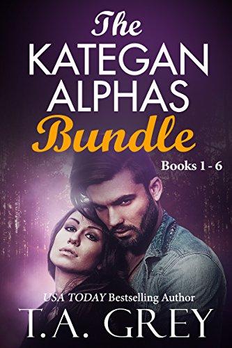 The Kategan Alphas Bundle (The complete series: Books 1-6): Mating Cycle, Dark Awakening, Wicked Surrender, Eternal Temptation, Dark Seduction, Tempting Whispers (English Edition)