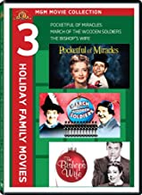 Three Holiday Family Movies - MGM Movie Collection: (Pocketful of Miracles / March of the Wooden Soldiers / The Bishop's Wife)