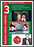 MGM Movie Collection: Three Holiday Family Movies (Pocketful of Miracles / March of the Wooden Soldiers / The Bishop's