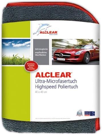 Alclear 822203h Highspeed Poliertuch Trockentuch 40x40 Cm 1 200 Gsm Extra Dick Flauschig Weich Auto