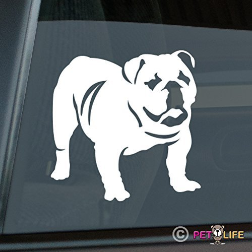 English Bulldog Sticker Vinyl Auto Window Sticker