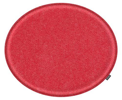 Feltd. Eco Filz Kissen geeignet für Fritz Hansen, Arne Jacobsen Serie 7 Stuhl, 3107-29 Farben - optional inkl. Antirutsch und gepolstert! (rot)