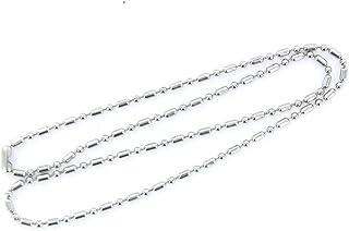 SODIAL(R) Catena del branello Cane dell'Acciaio Inossidabile Collare 20 Pollici