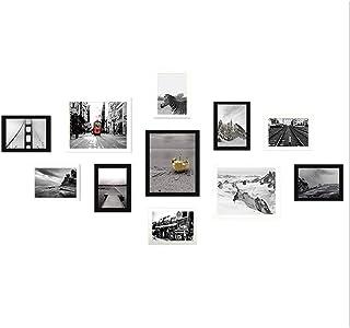 Ouqian Marco del Collage 11 Marco de Madera Combinación de Fotos Pared del Marco combinación Marco de Fotos Creativas de l...