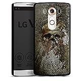 DeinDesign LG V10 Hülle Case Handyhülle Skull Totenkopf Bones