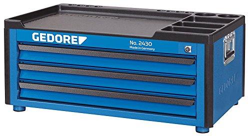 GEDORE 2430 Werkzeugtruhe mit 3 Schubladen
