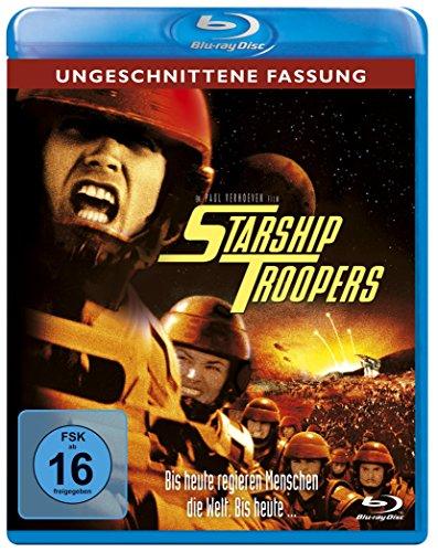 Starship Troopers - Ungeschnittene Fassung [Blu-ray]