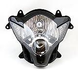 Topteng Faro delantero de motocicleta, faro de motocicleta para Suzuki GSXR 600/750 2006-2007 K6 K7