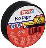 Tesa TS5619000008 - Cinta aislante, color negro