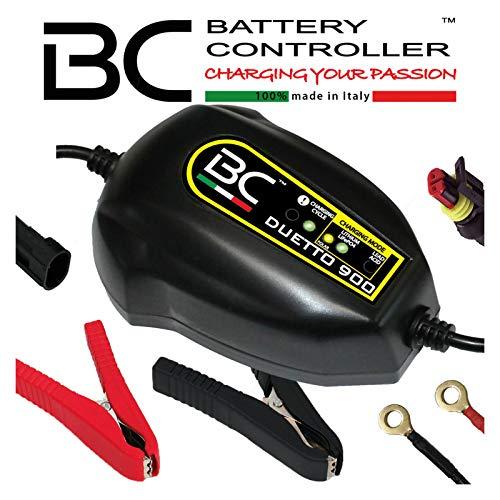 BC Battery Controller 700BCDP BC Duetto 900 12V 1A Kluges Batterieladegerät und Erhaltungsgerät für Blei-Säure-und Lithium-Starterbatterien (Li-Ion/LiFePO4)
