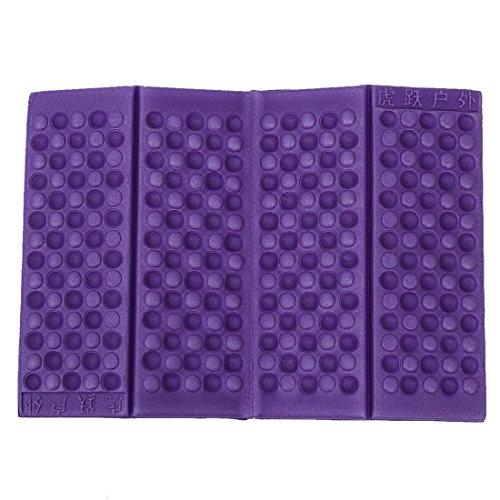 Almohadilla del asiento - TOOGOO(R)Almohadilla del asiento Cojin de silla Impermeable Espuma Plegable Personalizado (Purpura)