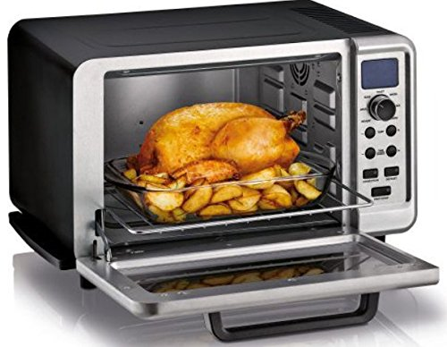 KRUPS Countertop Oven, Toaster Oven with Convection Heating, Stainless Steel, Silver
