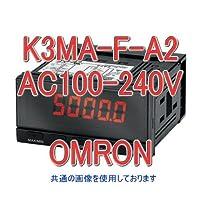 オムロン(OMRON) K3MA-F-A2 AC100-240V 回転・速度・流量指示/指示警報計 (回転パルス入力) (リレー接点出力) NN