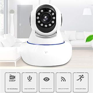 HHORD Sistema Wireless Home Cámaras De Seguridad WiFi De La Cámara Interior Pan Cámara Monitor del Bebé Visión Nocturna Alertas De Movimiento Red HD Cámara Gira 360 Grados