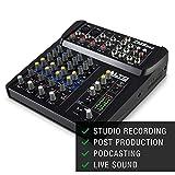 ALTO Professional ZMX862 - Mixer Audio Compatto a 6 Canali con Qualità da Studio con Due ...