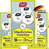 PIC Trampa para parásitos, pececillos de plata, sótanos, cucarachas y pez de papel 9 Piezas