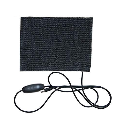 5V USB 3-Level Thermostat Elektrische Warmekissen 15 * 20Cm Heizblatt Heizkissen Kohlefaser
