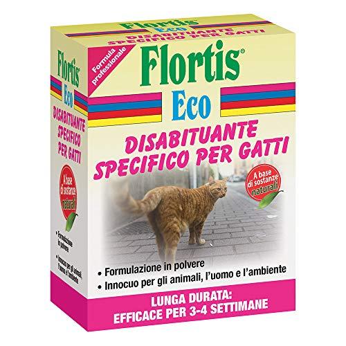 Flortis DISABITUANTE SPECIFICO per Gatti VEGETALE 200 GR Giardino ORTO NUTRIZIONE Piante
