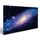 Bild Bilder auf Leinwand die große Andromeda-Galaxie