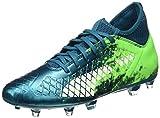 Puma Herren Future 18.3 FG/AG Fußballschuhe, Blau (Deep Lagoon White-Green Gecko 03), 43 EU