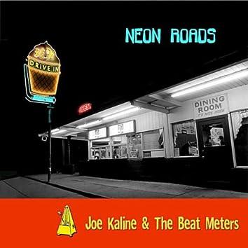 "Neon Roads: ""Walking On Sunshine"" with 80's rock, surf, sax, and ska."