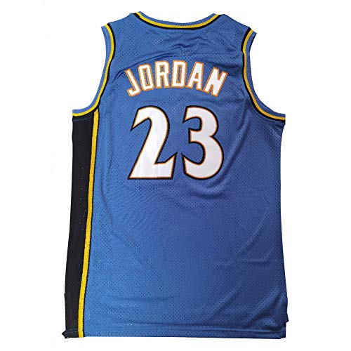Wizards Jordan Basketball Jersey 23#, Embroidered Street Dance Party mesh Sweatshirt, Summer Breathable Fabric Moisture-Absorbing Quick-Drying, Unisex(S-XXL)-XXL