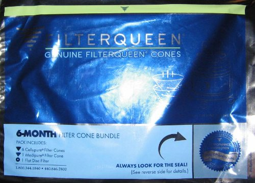 Filter Queen Majestic Replacement Filters, 6 Month Filter Cone Pack