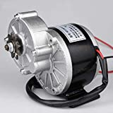 """24 Volt 250 Watt My1016Z2 Gear Reduction Motor Complete With A 9 Tooth 1/8"""" Bicycle Chain Sprocket Product Code: MY1016Z / ZD101AZ1 UNITEMOTOR Rated power: 250/W Voltage: 24/36 V No-load current: ≤ 2.0 A No load speed: 3850 RPM Rated torque: 0.80N · ..."""