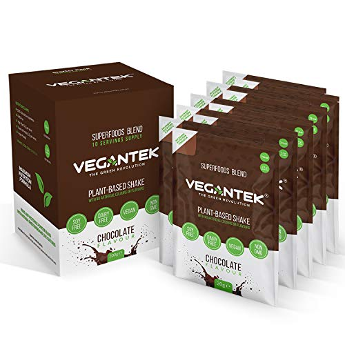 VeganTek Superfoods Powder Sachets - Mineral and Vitamin Rich - Detox Drink - Healthy and Nutritious Drink - No Artificial Ingredients - 200g
