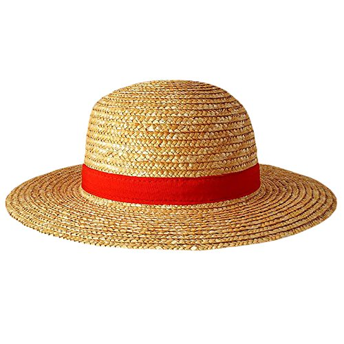 ONE PIECE - Monkey D. Ruffy Luffy Stroh-Hut Straw-Hat Anime Manga Cosplay Kostüm
