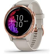 Garmin Venu, GPS Smartwatch with Bright Touchscreen Display, Features Music, Body Energy...