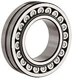 NSK 23028CDE4 Spherical Roller Bearing, Round Bore, Pressed Steel Cage, Metric,...