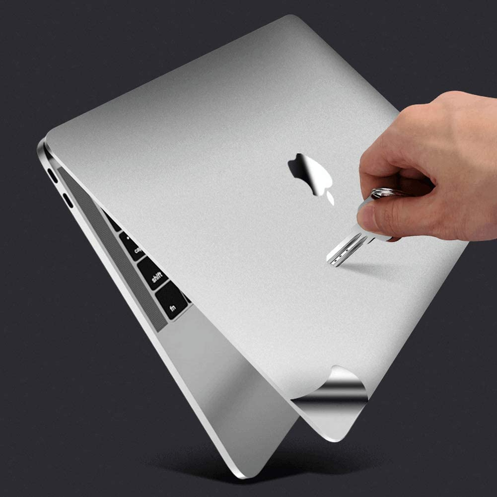 MacBook Pro 16 inch A2141 For MacBook Protective-Skin Decals-Stickers Case Screen-Protector EU UK Keyboard-Cover 6in1 3M Full Body Vinyl Invisible Stealth Armor 2020-2019 , Space Grey