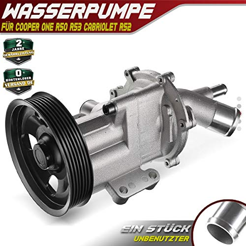 Waterpomp voor Cooper One R50 R53 Cabriolet R52 2001-2007 AW9474