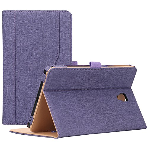 ProCase Galaxy Tab A 8.0 Case 2017 Model T380 T385 - Stand Folio Case Cover for 8.0 inch Galaxy Tab A Tablet 2017 T380 T385 -Purple