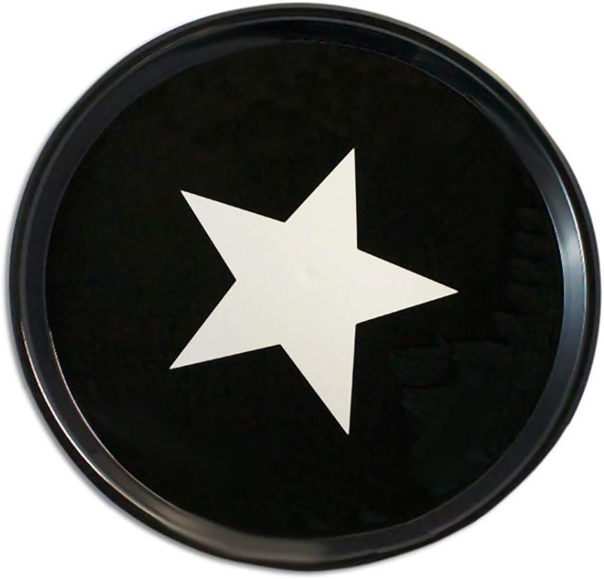 Argent/é 370 mm Diam/ètre Plateau rond antid/érapant /« Star /»