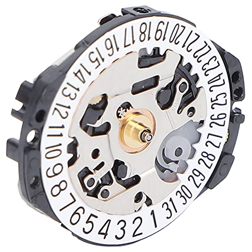 Movimiento De Cuarzo Electrónico, Pieza De Reparación De Movimiento De Reloj Precisa Con Pin Para Tienda De Relojes