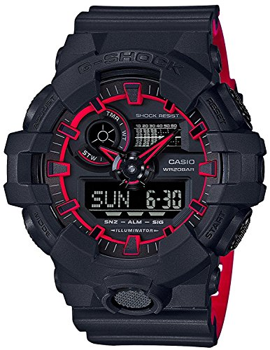 CASIO Watch G-SHOCK neon color GA-700SE-1A4 Men's International Model