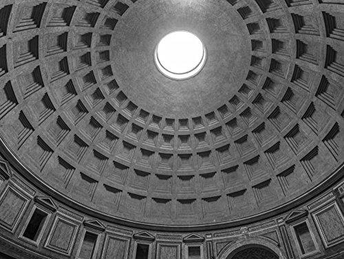 Feeling at home Imagen sobre Lienzo con Caja Americana cúpula del Panteón...