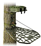 Air Raid Evolution - Cast Aluminum Hang On Tree Stand for Hunting - Deluxe Deer Stand, XOP Green, Platform Dimensions - 21.5 X 31''
