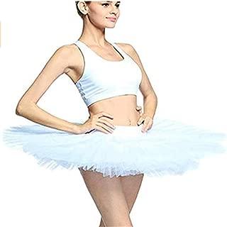 MICHEALWU Adult Ballet Pancake Tutu Skirts Women Professional Ballet Tutu Costume Women Ballet Dance
