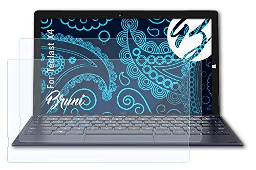 Bruni Schutzfolie kompatibel mit Teclast X4 Folie, glasklare Bildschirmschutzfolie (2X)