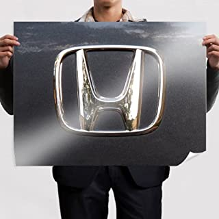 Poster Honda logo wall (32x24inch) print