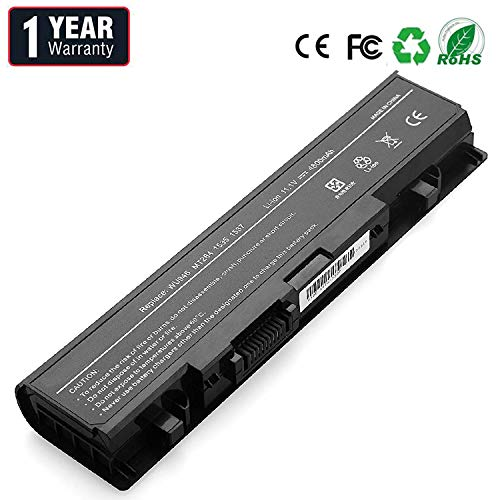 BYDT Laptop Battery for Dell Studio PP39L WU946 1558 1555 1537 1535 PP33L 1536, fits P/N WU946 MT2312-0701 312-0702 KM887 KM901 KM904 KM905 MT264 MT275 MT276 RM803 RM804 RM855 WU960 [6-Cell 49Wh]