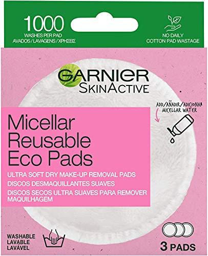 Garnier Garnier Skin Active Discos Desmaquillantes Reutilizables De Microfibra, Set De 3 Unidades 21 g
